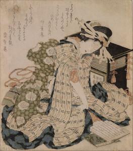 800px-Katsushika_Hokusai_-_Courtesan_asleep_-_Google_Art_Project