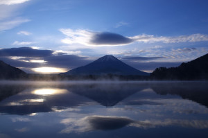 Mt.Fuji_and_Lake_Shojiko