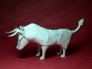 Wet-folding_bull